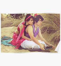 Aladdin & Jasmine Poster