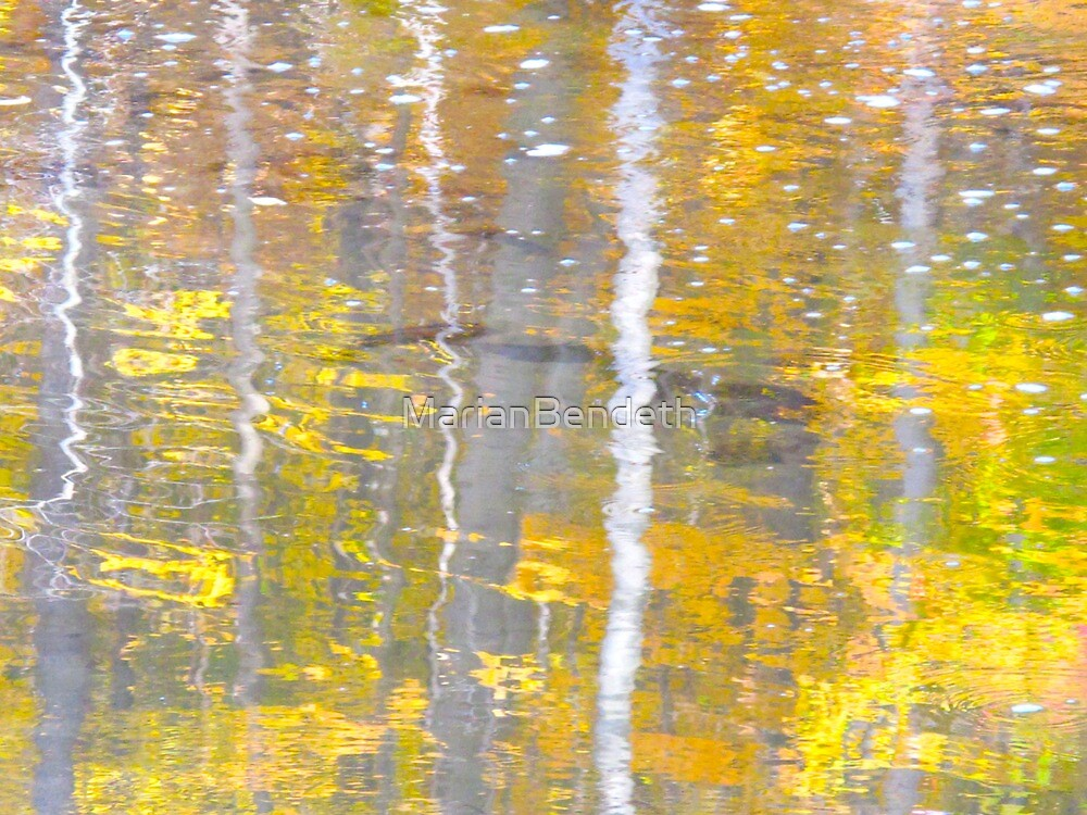 Pooling gold by MarianBendeth