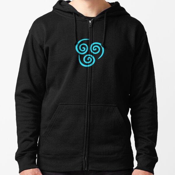 Air Nomad symbol Zipped Hoodie