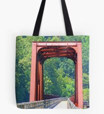 Old Railway Bridge Tote Bag