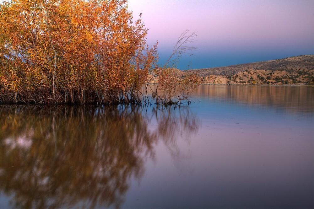 Off Shore Fall by Bob Larson