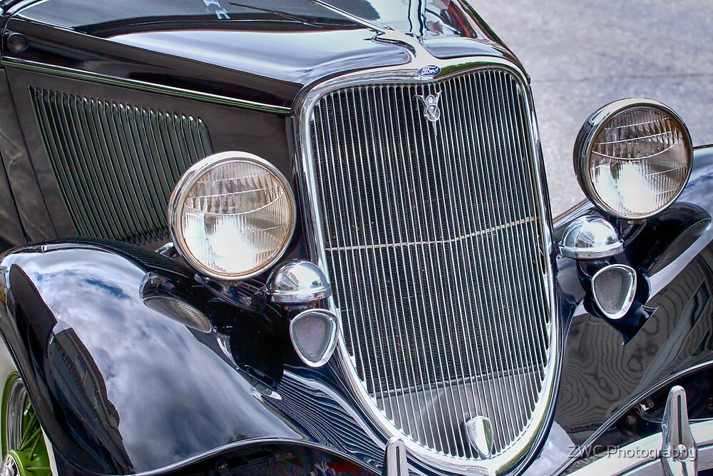 1934 Ford Phaeton Convertible by ZWC Photography