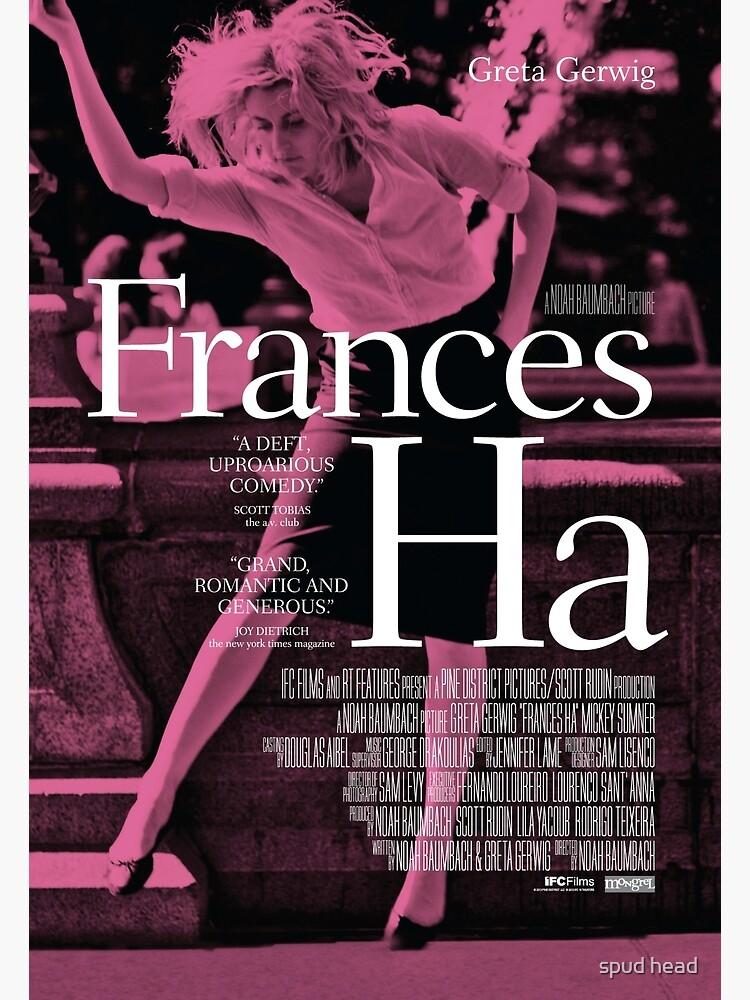 Frances Ha poster by Dylannn