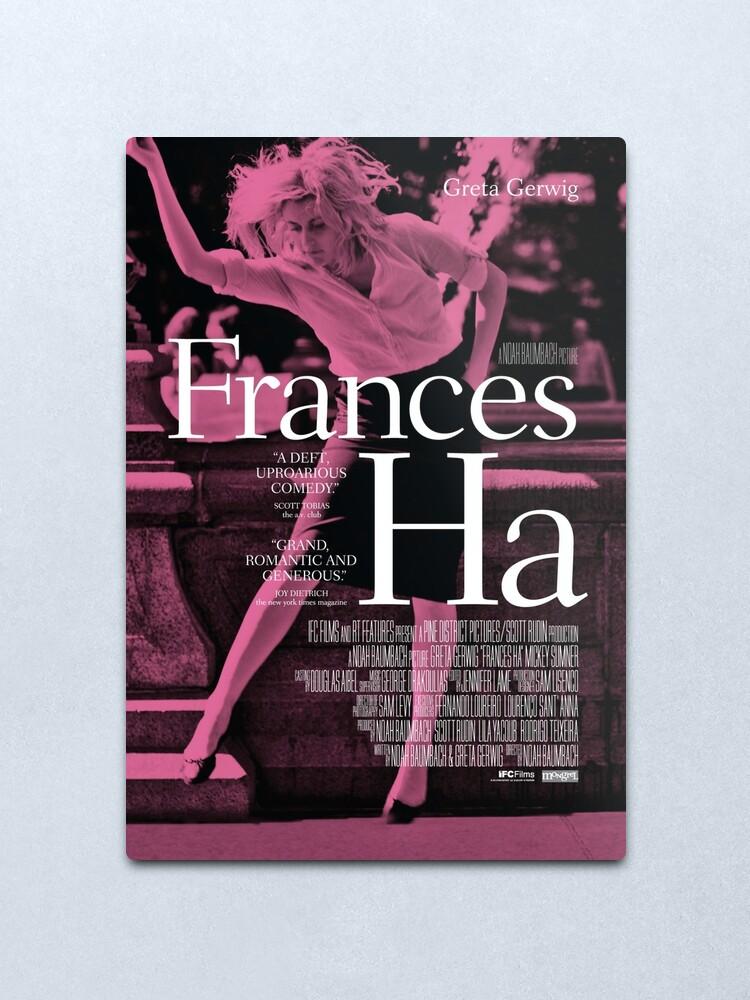 Alternate view of Frances Ha poster Metal Print