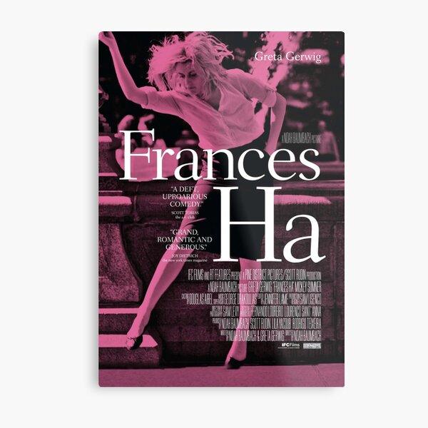 Frances Ha poster Metal Print