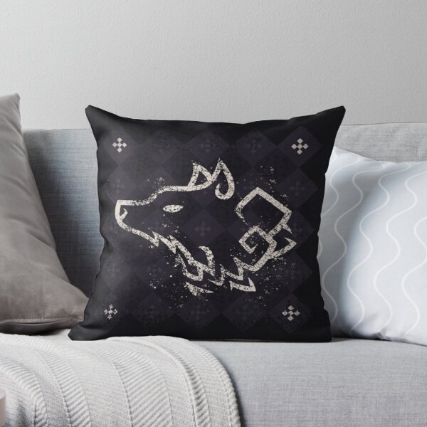 House Stark - Game of Thrones Throw Pillow