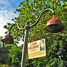 Street Lamps by Ivanhoe Wheelhouse, Paterson NJ by Jane Neill-Hancock