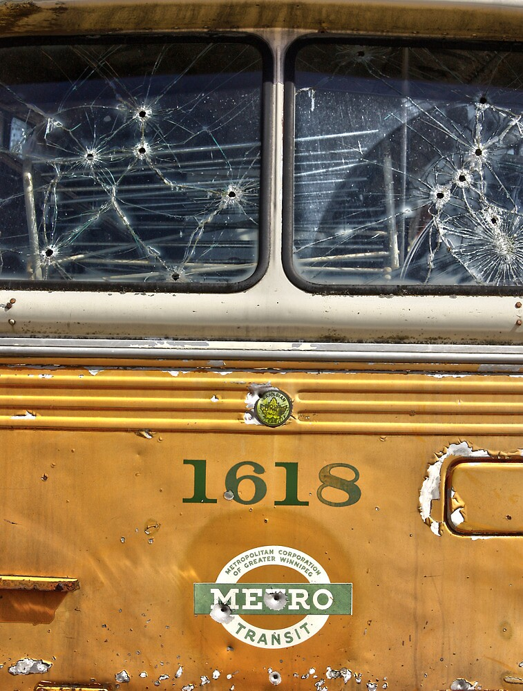 Bus Of Bullets  by JerryCordeiro