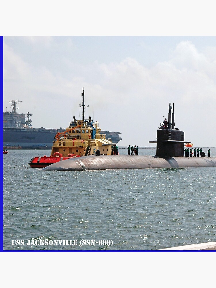 USS JACKSONVILLE (SSN-699) SHIP'S STORE by militarygifts