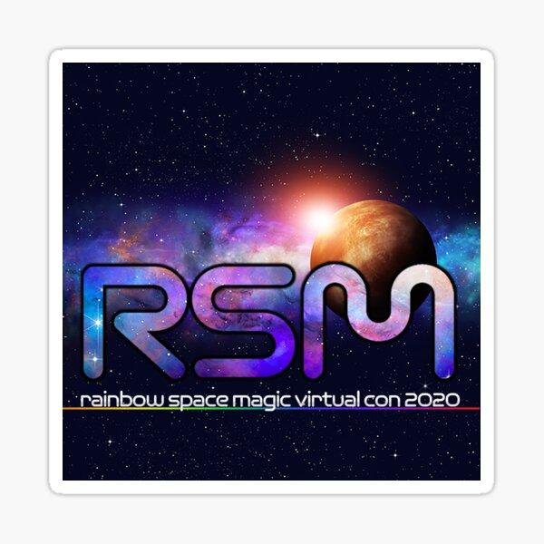 Rainbow Space Magic 2020 Logo Sticker
