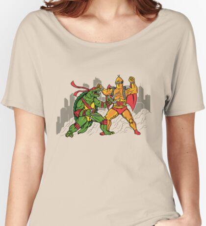 Teenage Mutant Gamera Ninja Women's Relaxed Fit T-Shirt