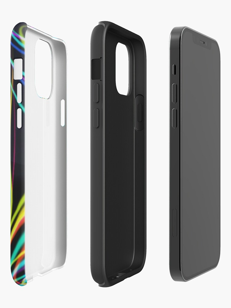 Alternate view of Electro Grasslands XR iPhone Case & Cover