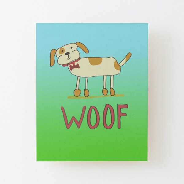 Dogger by Sophie Wood Mounted Print