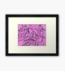 acording Framed Print