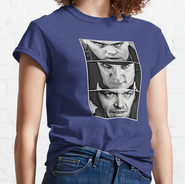 Full Mental Straight Jacket AKA Kubrikian Stare-off AKA I am Jack's Insanity Classic T-Shirt