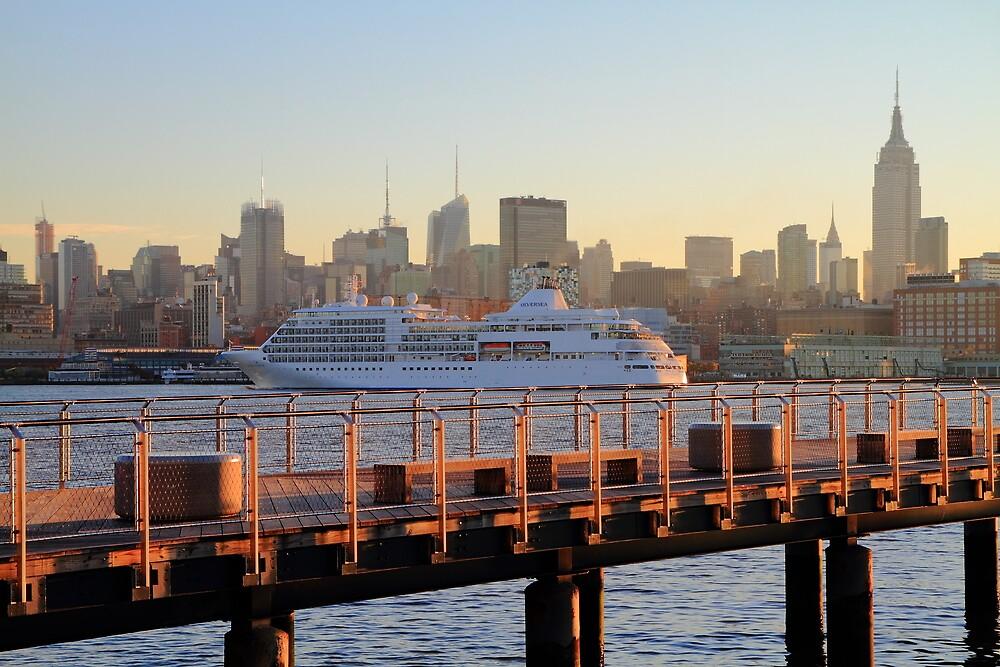 cruise ship silver whisper by pmarella