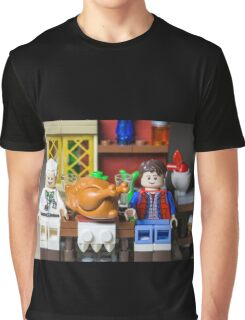 Thanksgiving with Doc and Marty Graphic T-Shirt
