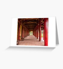 Hue Citadel Greeting Card