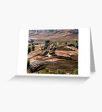 Sapa rice Greeting Card