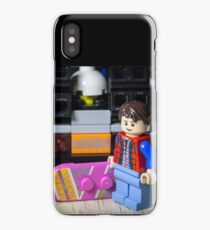 Marty Gets the Hoverboard out iPhone Case/Skin