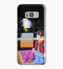 Marty Gets the Hoverboard out Samsung Galaxy Case/Skin