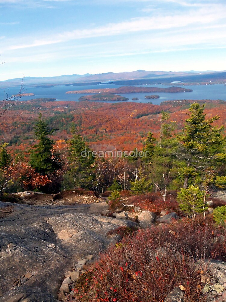 Mount Major Views NH by Kerry Cillo