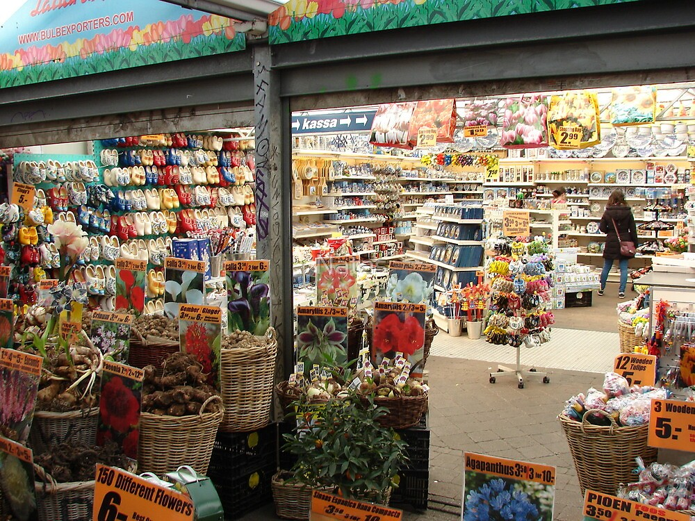 Flower markets in Amsterodam I. by Natas