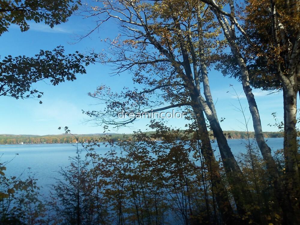 Lake Waukewan NH by Kerry Cillo