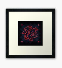 House Targaryen - Game of Thrones Framed Print
