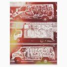 Vintage Graffiti New York. by Slushylq
