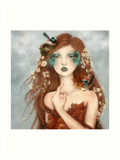 Nymphs: Wrencatcher by gingerkelly