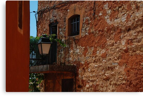 Roussillon Textures by Geoffrey Grinton