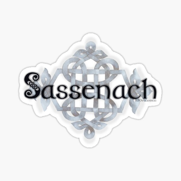 Celtic Knot Sassenach Sticker
