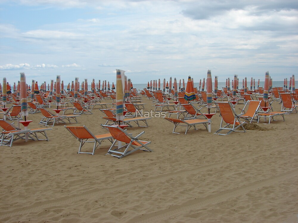 Bibione beach II.  by Natas