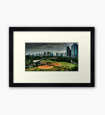 Baseball Diamond Framed Print