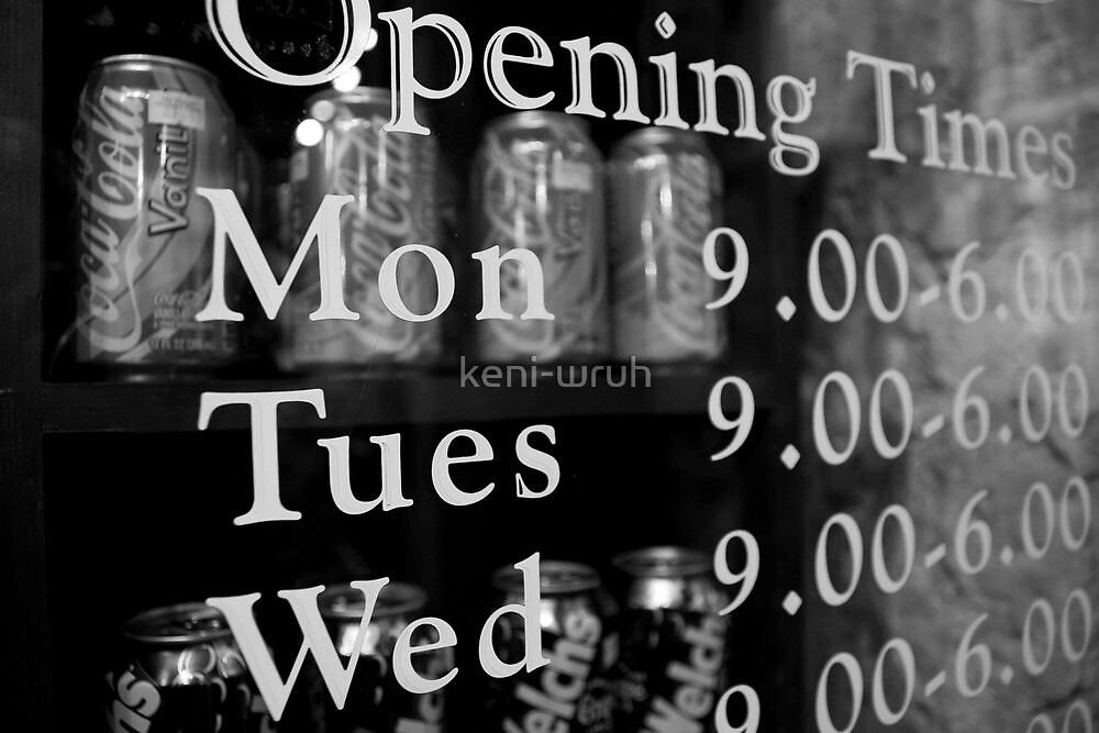 Opening Hours by keni-wruh
