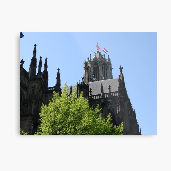 Gothic Queen's Day Metal Print
