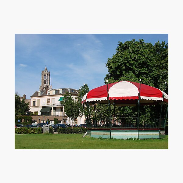 The Bandstand in the Park Photographic Print