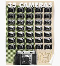 35 Cameras - Retina Rodenstock Heligon f 2.0 Poster 629e06bf0582
