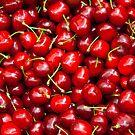 Red Cherries  by Kuzeytac