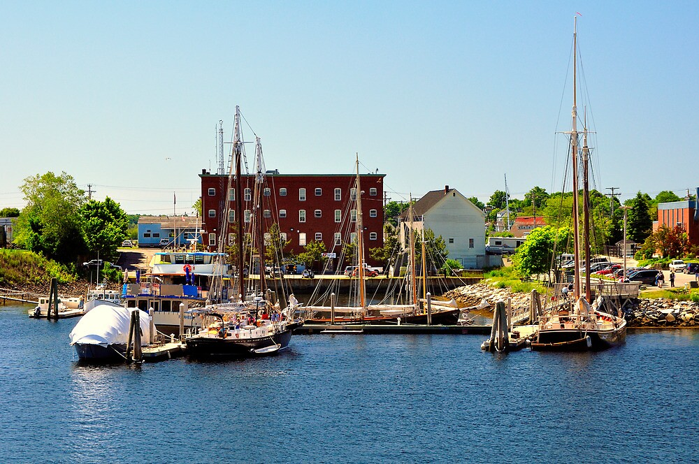 Rockland, Maine by fauselr