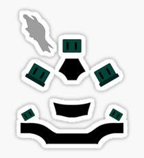 Master Chief Halo 4 variant Sticker