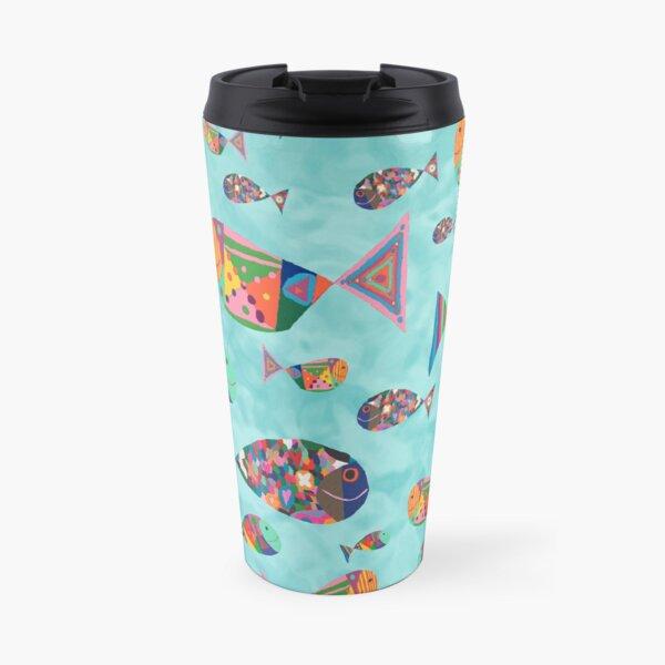 Happy Fish by Sophie Travel Mug