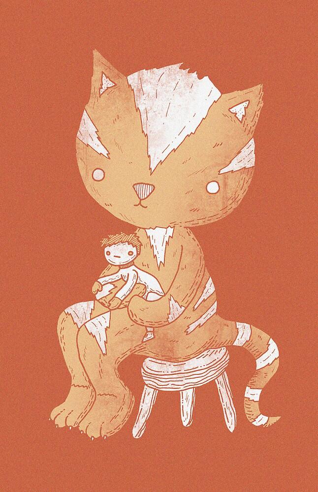 Lap cat by Randyotter