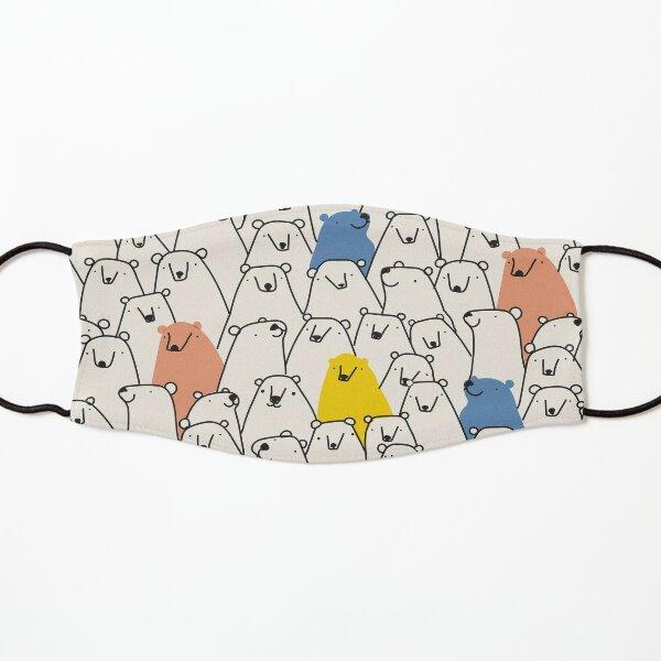 Bärenmuster Maske für Kinder