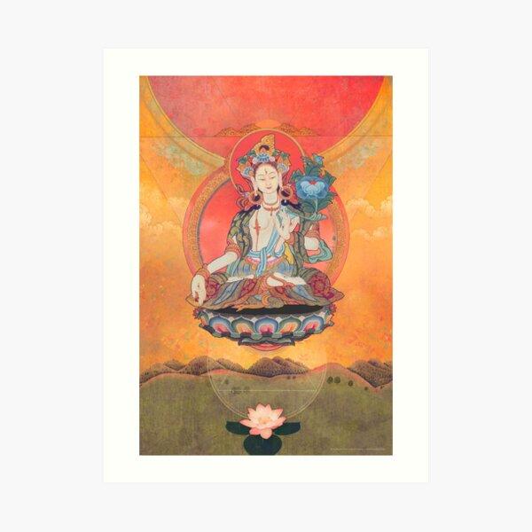 Tara Meditation Art Print