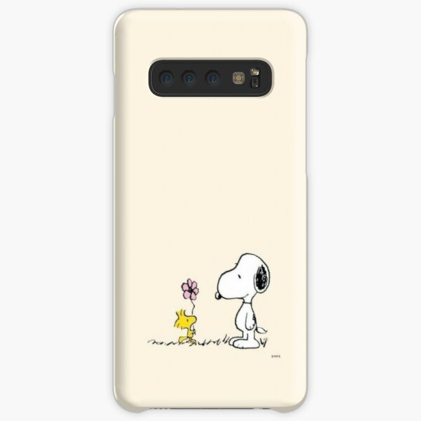 snoopy and woodstock  Samsung Galaxy Snap Case