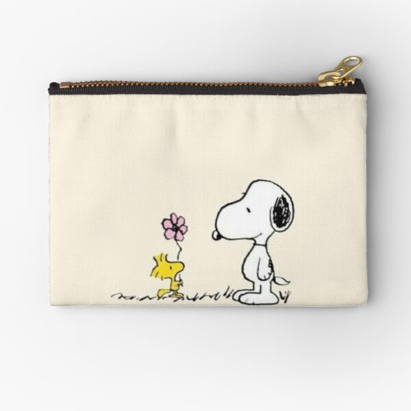 snoopy and woodstock  Zipper Pouch