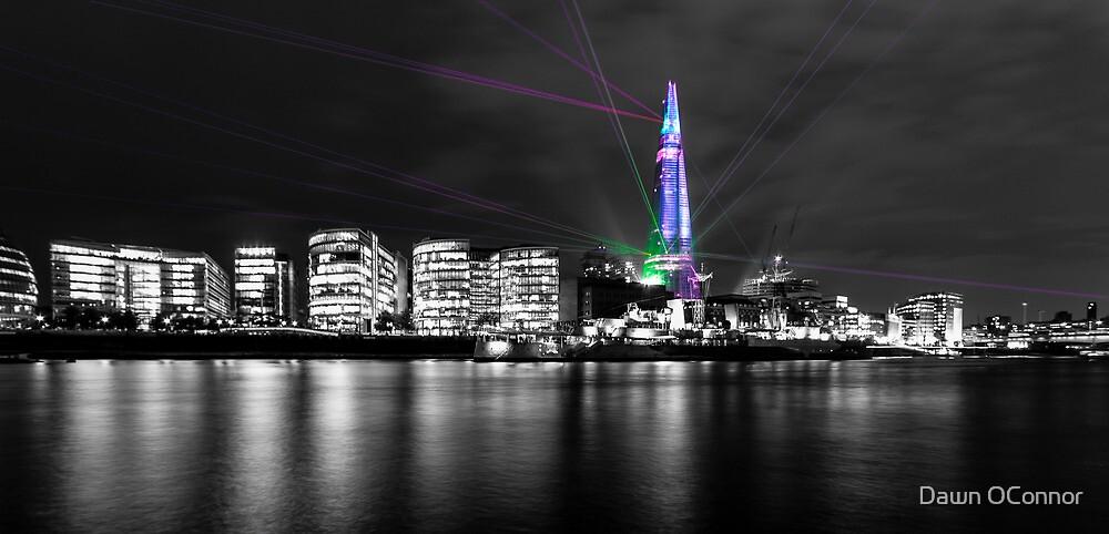 Shard Laser Display by Dawn OConnor