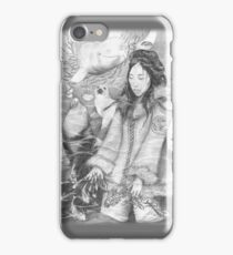 Sedna, Inuit Goddess of the Sea (B&W) - iPhone/iPod case iPhone Case/Skin